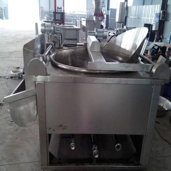 网带式油炸烘干机