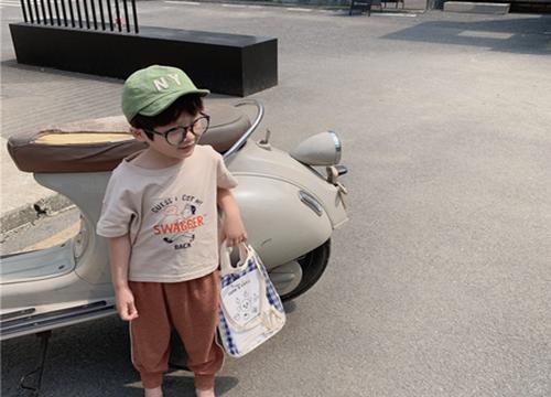 韩版儿童短袖t恤批发