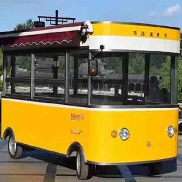 镇江苏州食堂电动送餐车四轮保温不锈钢餐车