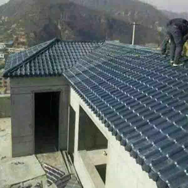 屋顶琉璃瓦机器 PVC塑料琉璃瓦设备