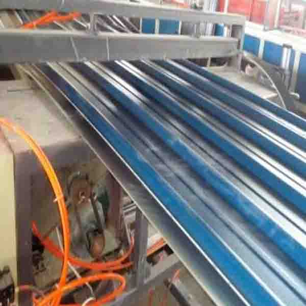 PVC波浪瓦设备塑料板材生产线