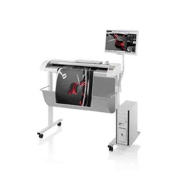 大幅面扫描仪精细度高操作简单自动拼接
